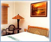 Saud Beach Resort and Hotel double accommodation